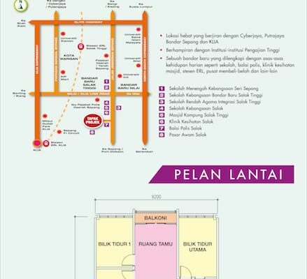 Location Map & floor plan